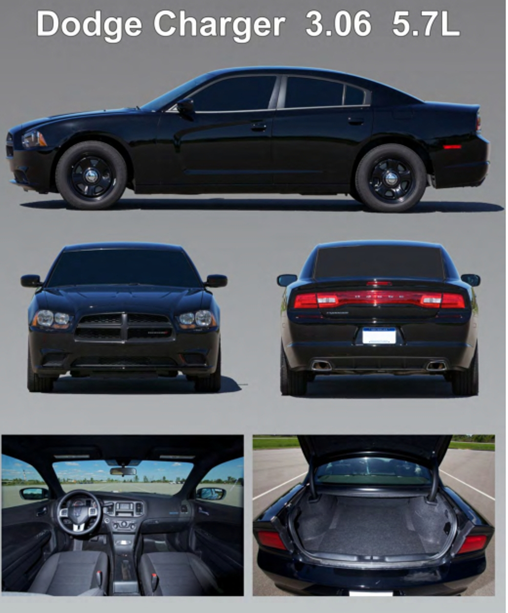 2014 Dodge Charger Pursuit | Top Speed