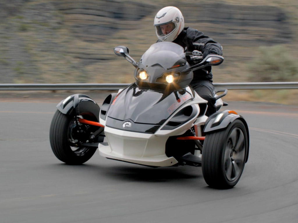 2014 Can-Am Spyder RS | Top Speed