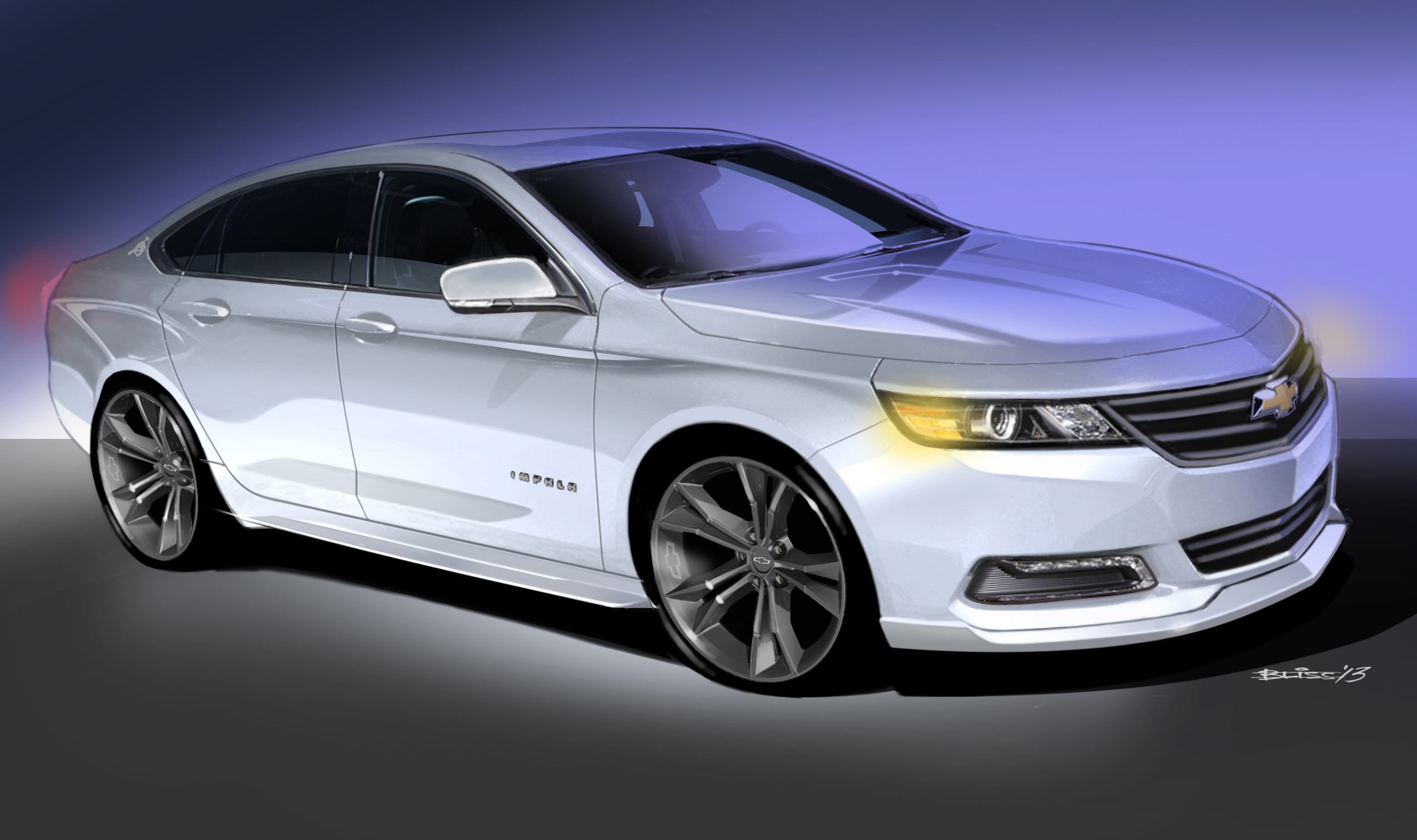 2014 Chevrolet Impala Urban Cool Concept Review - Top Speed
