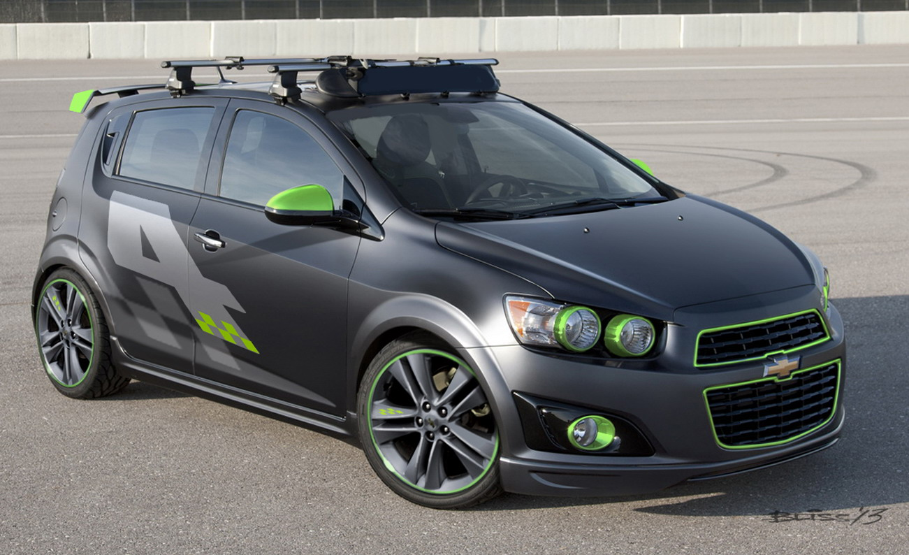 Ford Fiesta Sedan >> 2014 Chevrolet Sonic Ricky Carmichael All-Activity Concept Review - Top Speed
