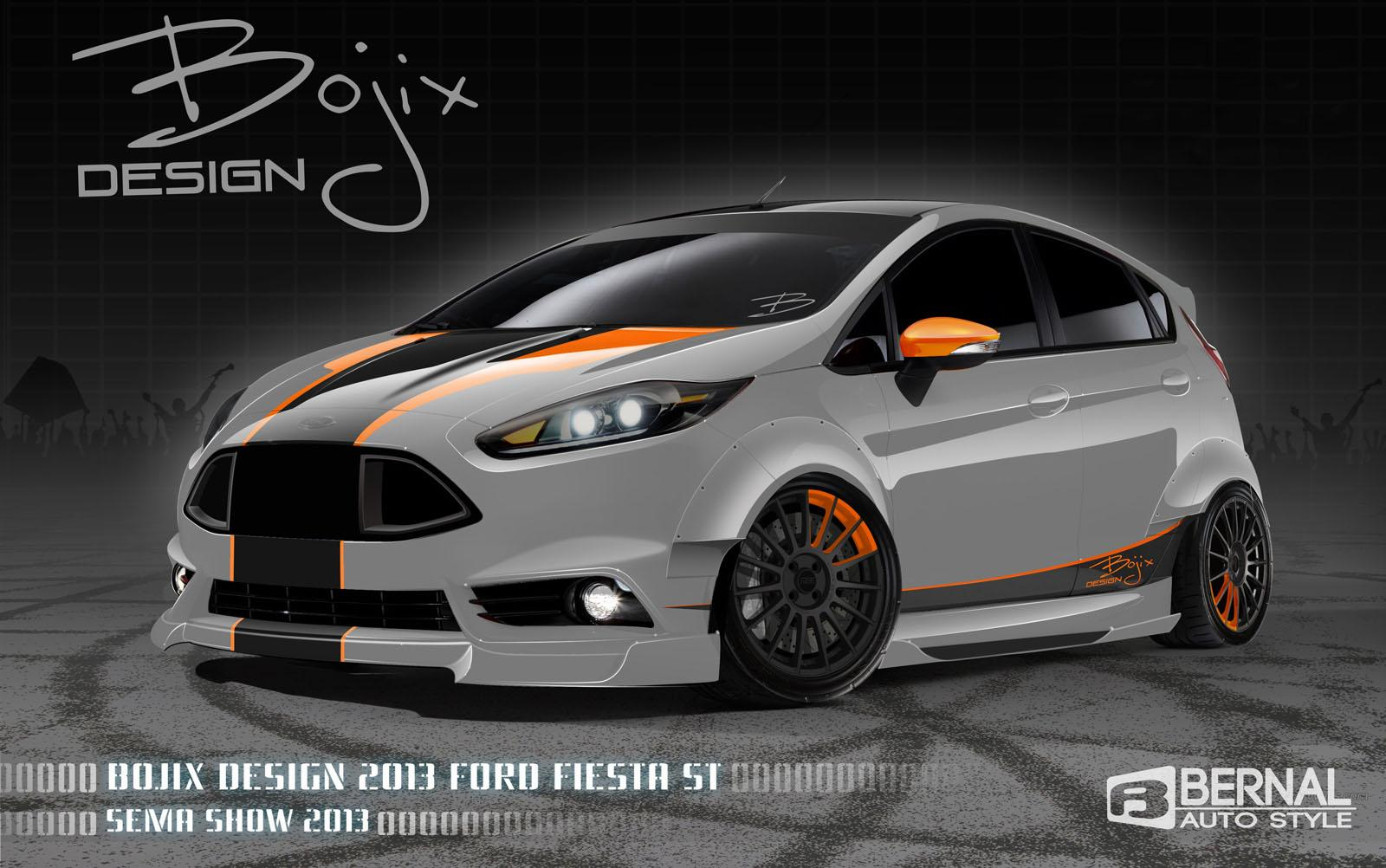 Fiesta St Aftermarket >> 2014 Ford Fiesta ST By Bojix Design Review - Top Speed