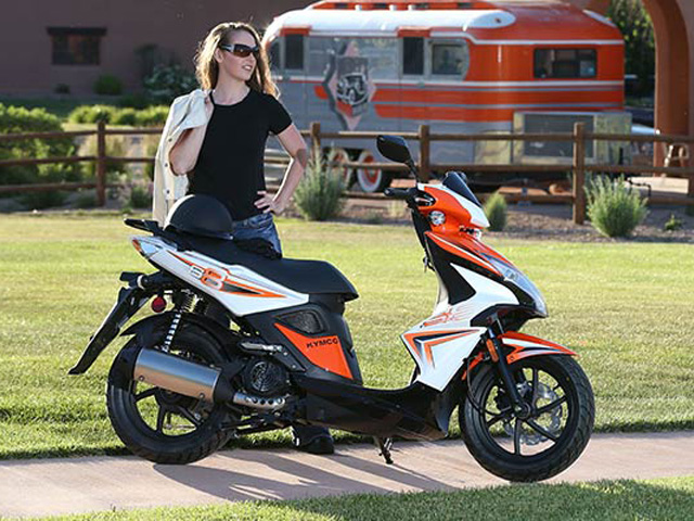 2014 Kymco Super 8 150 | Top Speed