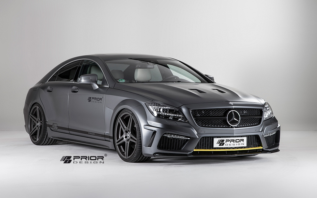 2013 2014 Mercedes Benz Cls Pd550 Black Edition By Prior