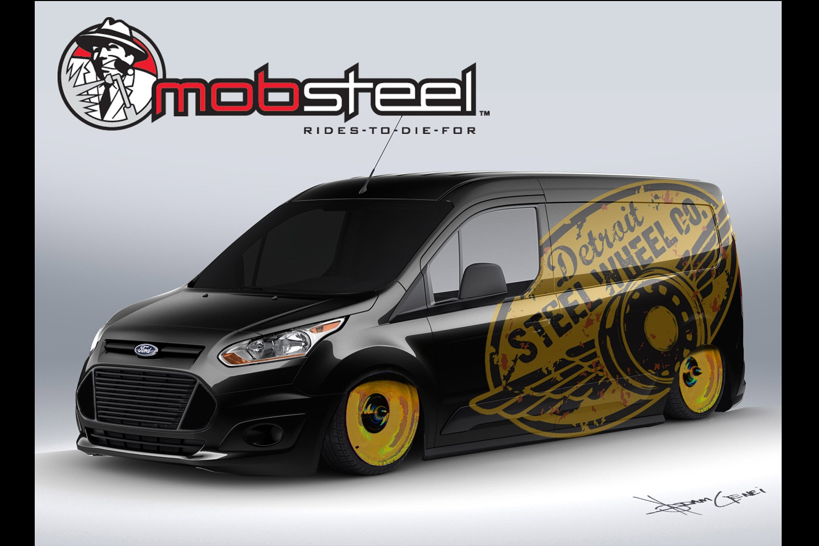 ea4deb5eade4 Vandemonium Hits Fever Pitch With 10 Customized Ford Transit Connect  Vehicles