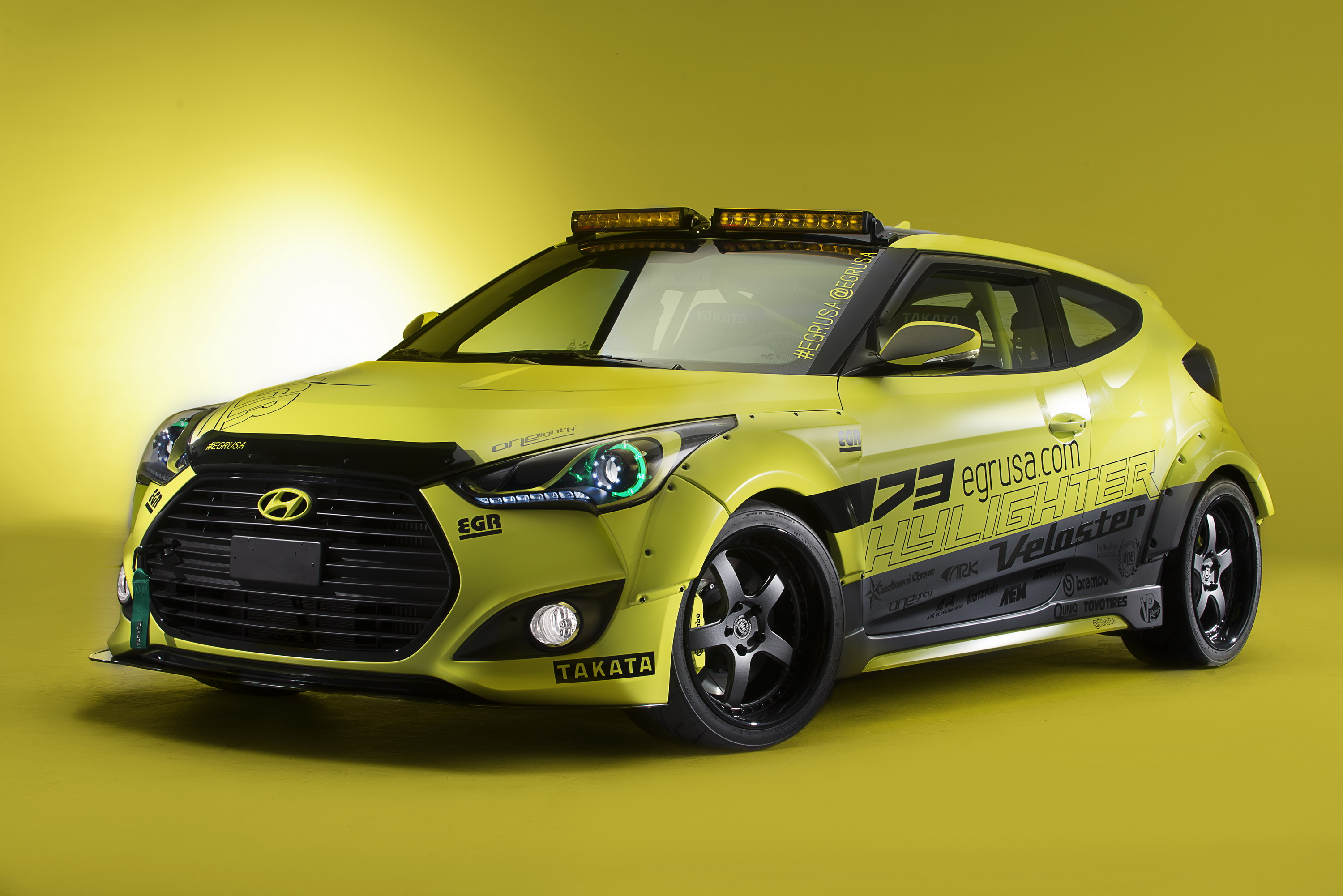 2013 hyundai veloster night racer concept by egr group top speed. Black Bedroom Furniture Sets. Home Design Ideas