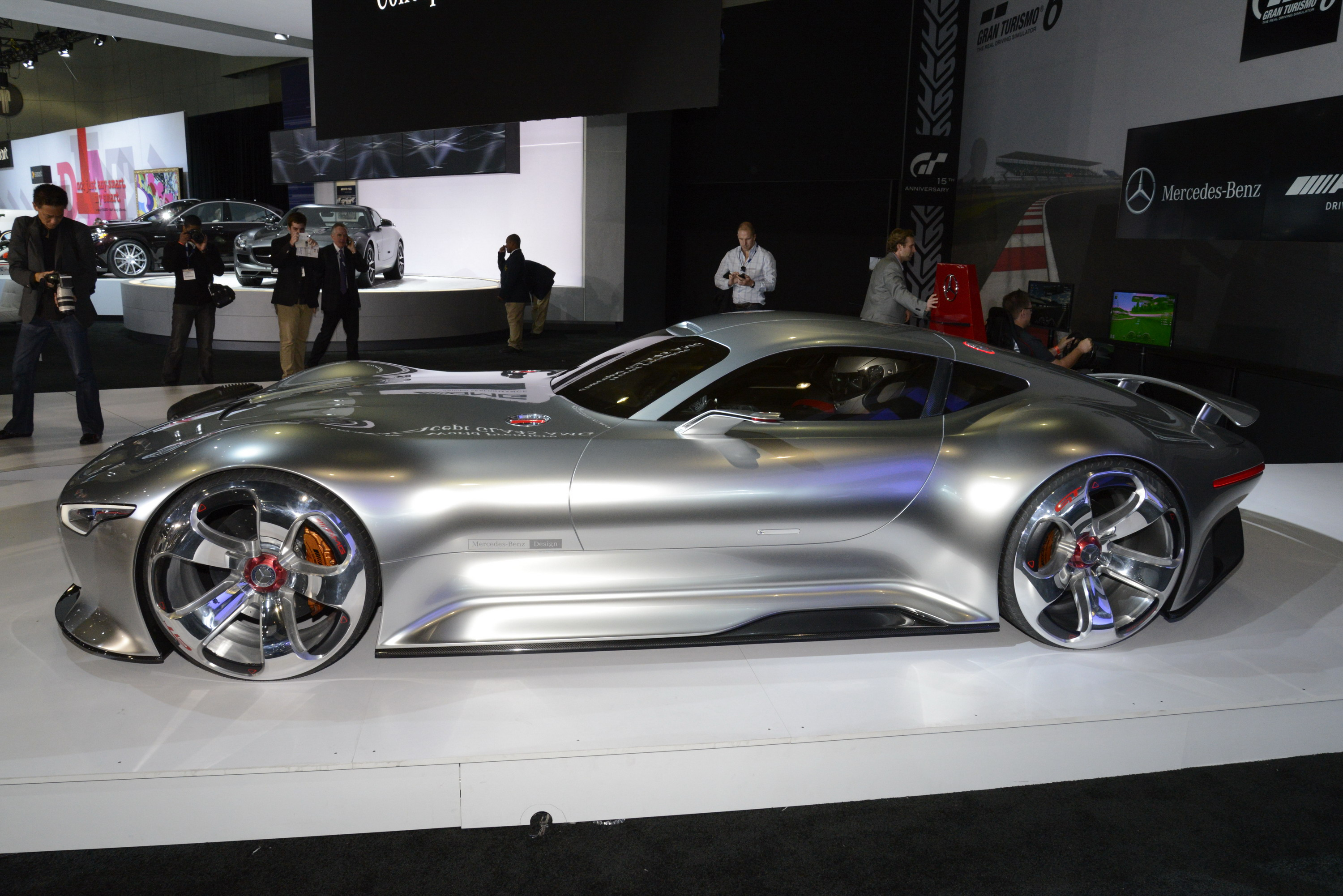 2013 Mercedes Benz Vision Gran Turismo Concept Review   Top Speed. »