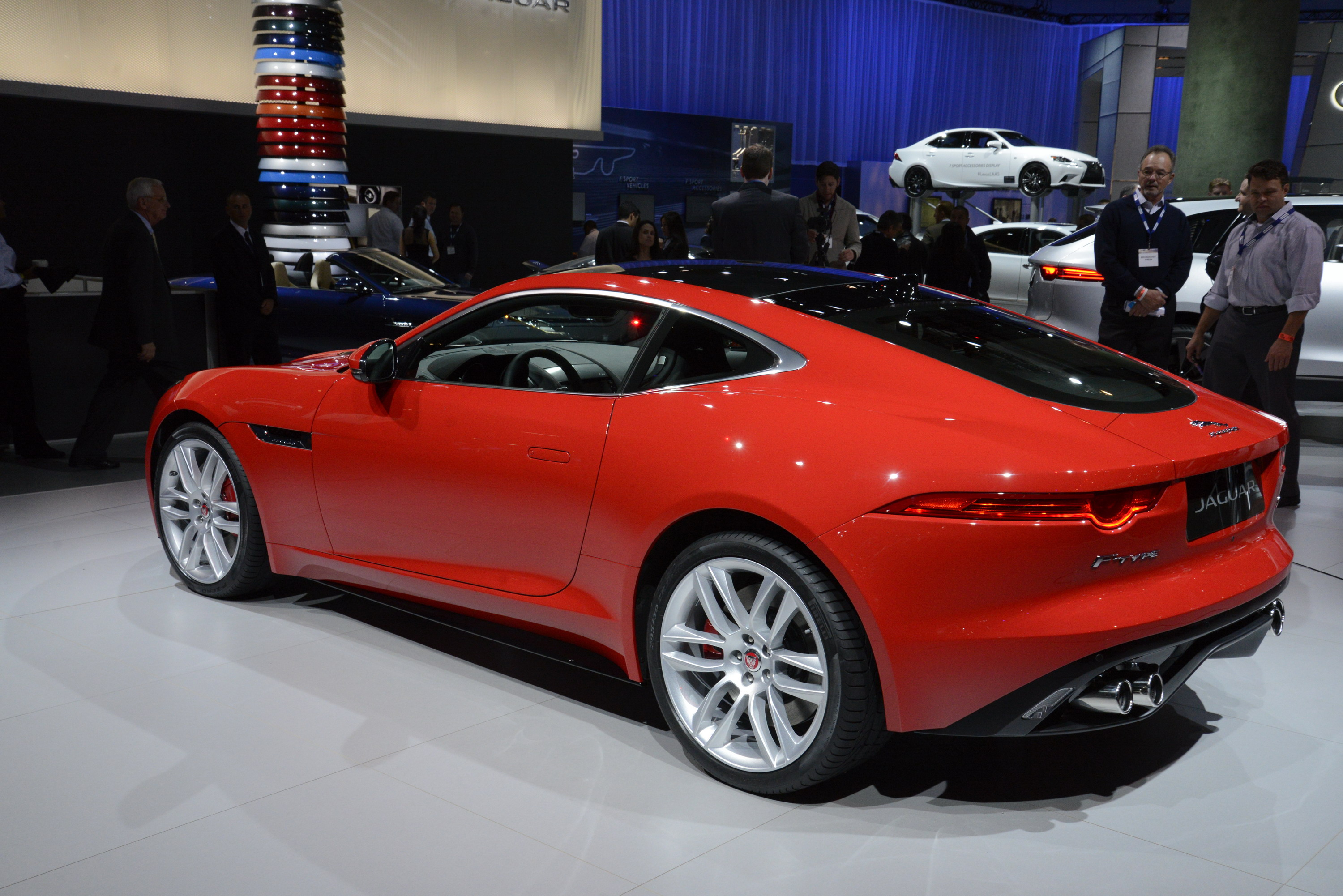 2014 Jaguar F Type Coupe Review   Top Speed. »