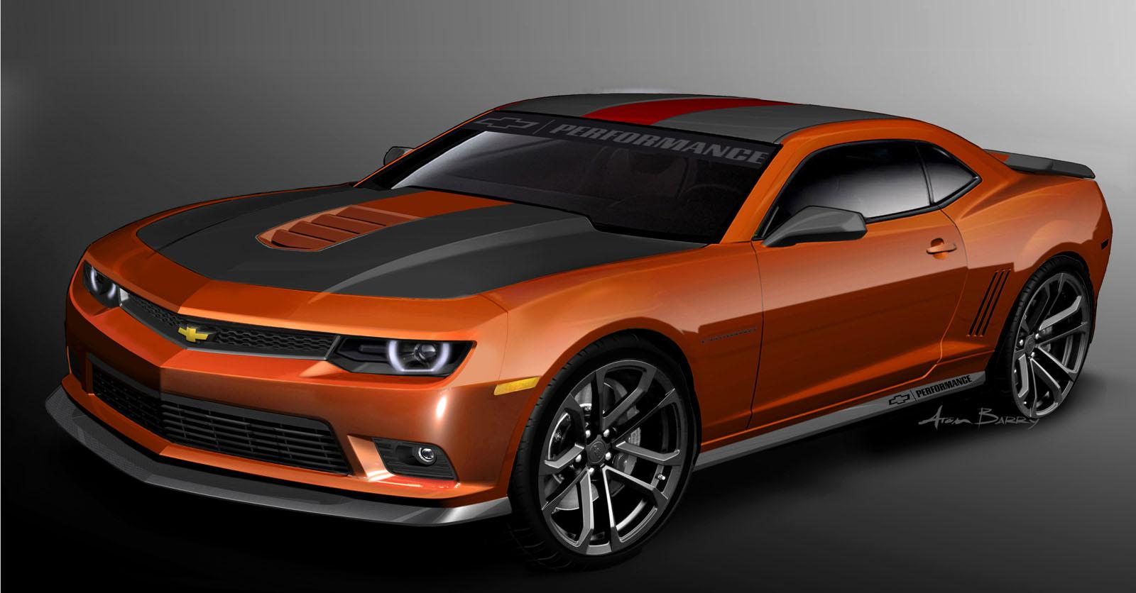 2014 Chevrolet Camaro Performance Garage Concept Top Speed