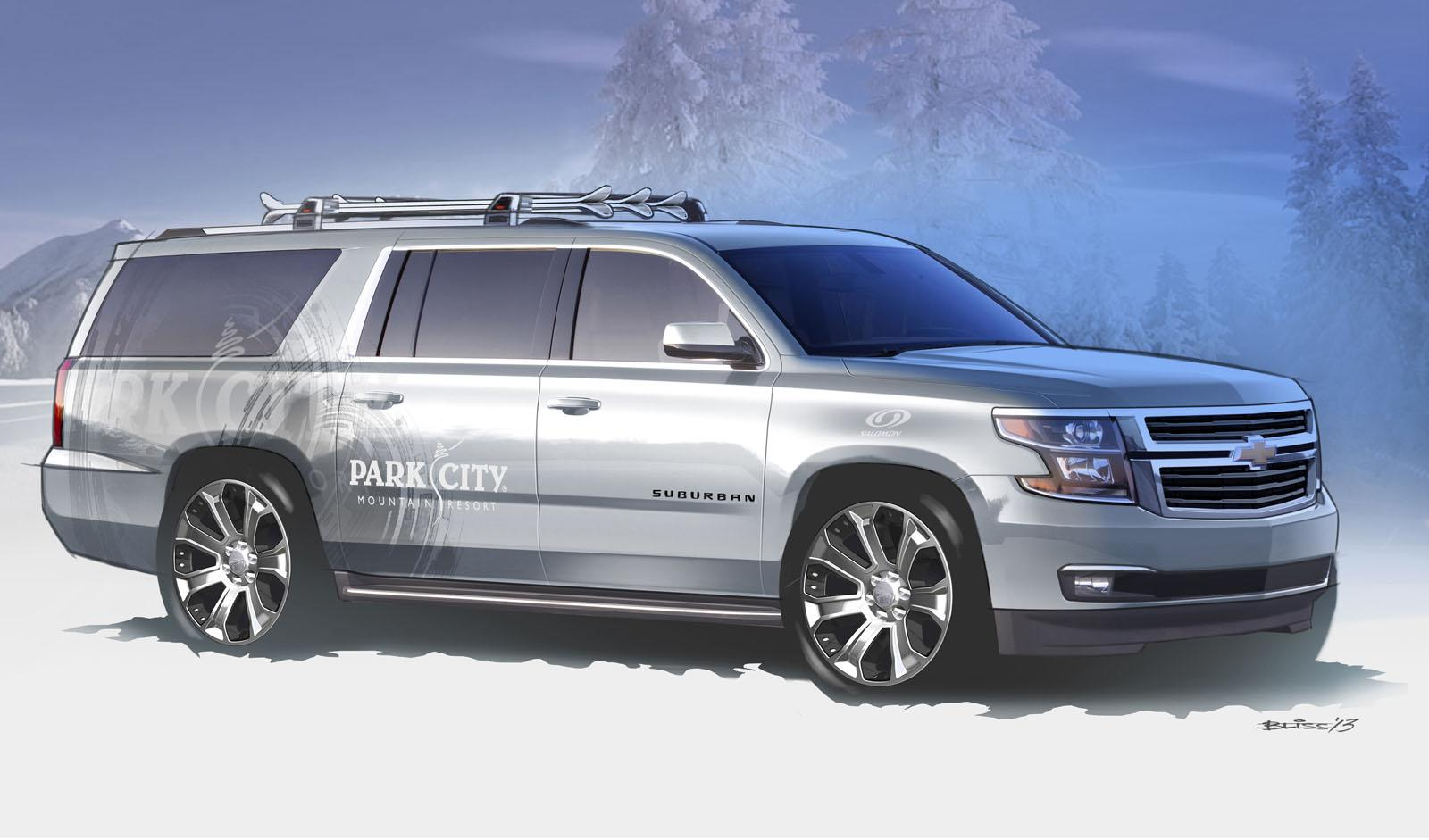 2015 Chevrolet Suburban Half-Pipe Concept Review - Top Speed