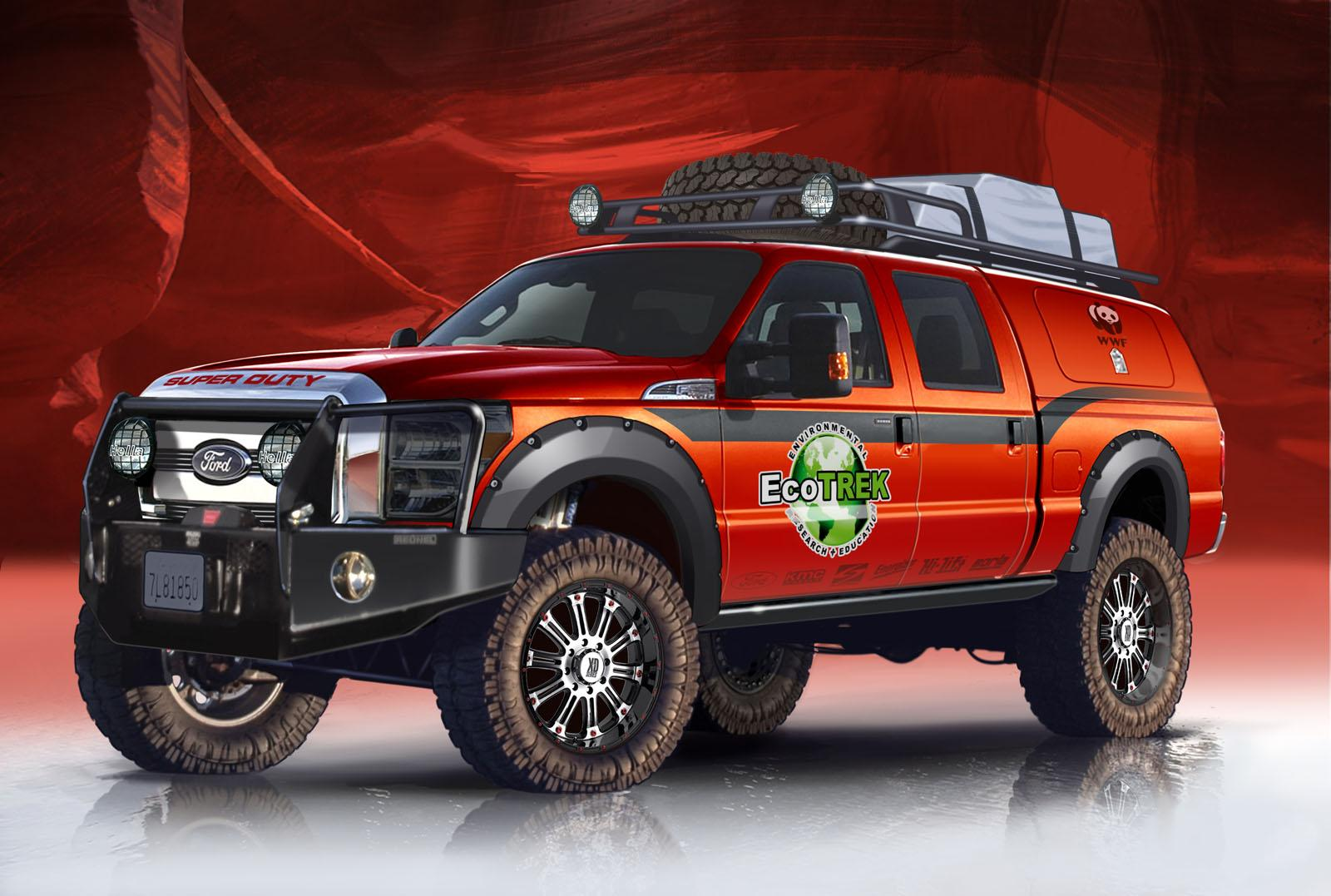 2014 Ford F 350 EcoTrek Top Speed