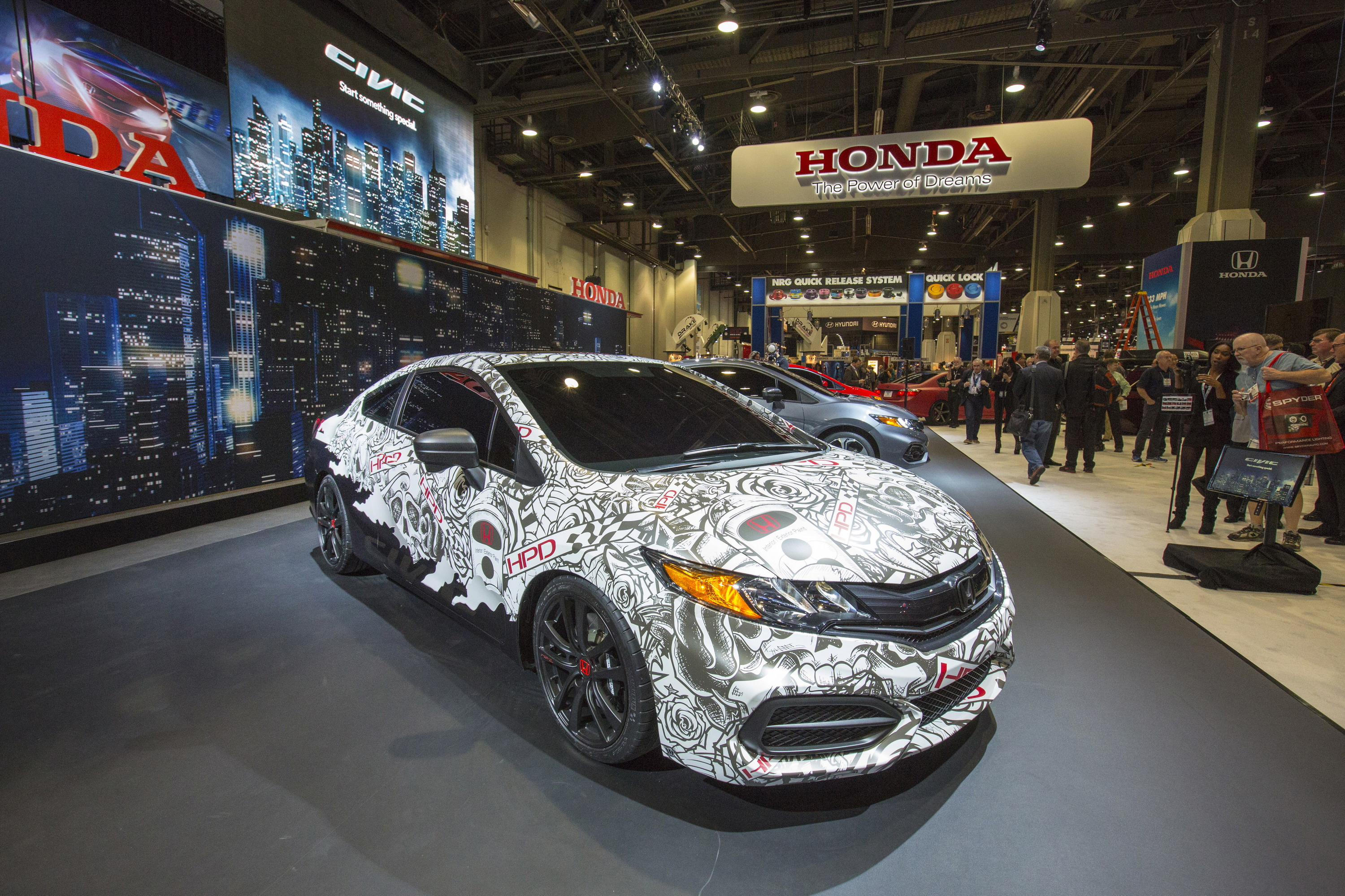 2014 Honda Hpd Civic Street Performance Concept Top Speed