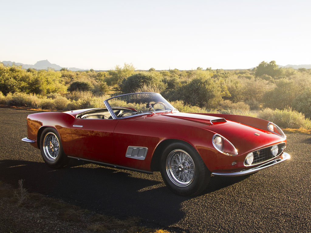 1960 Ferrari 250 Gt Lwb California Spider Competizione Top Speed