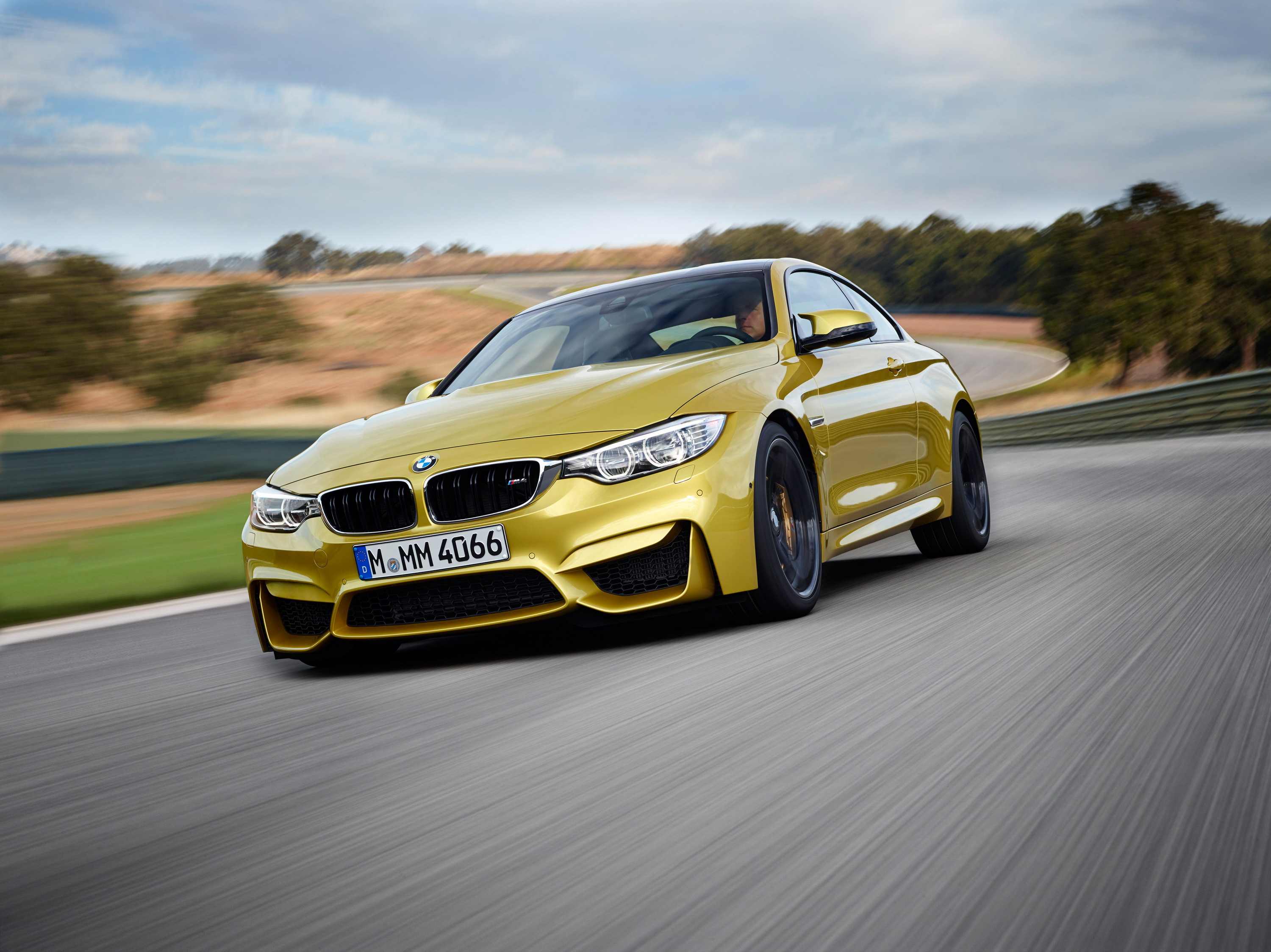 2014 Bmw M4 With M Performance Aerodynamic Parts Top Speed