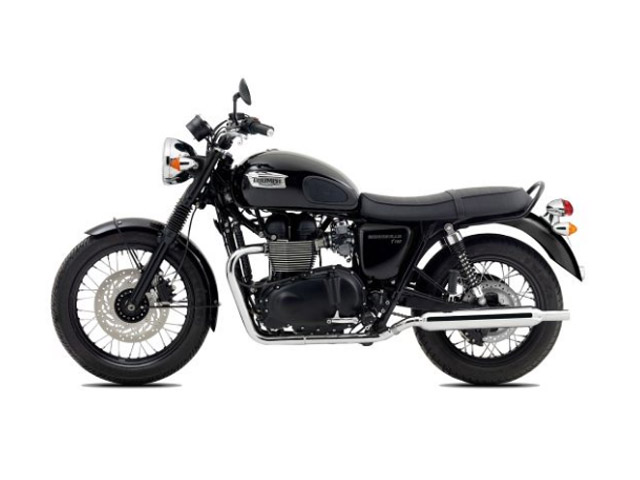 2014 Triumph Bonneville T100 Black Top Speed