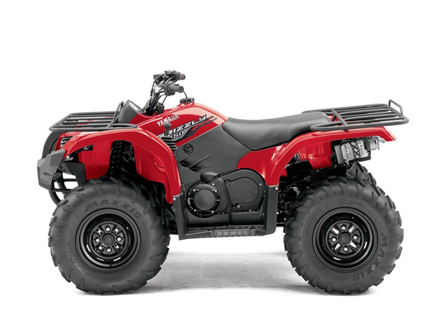 2014 Yamaha Grizzly 450 | Top Speed