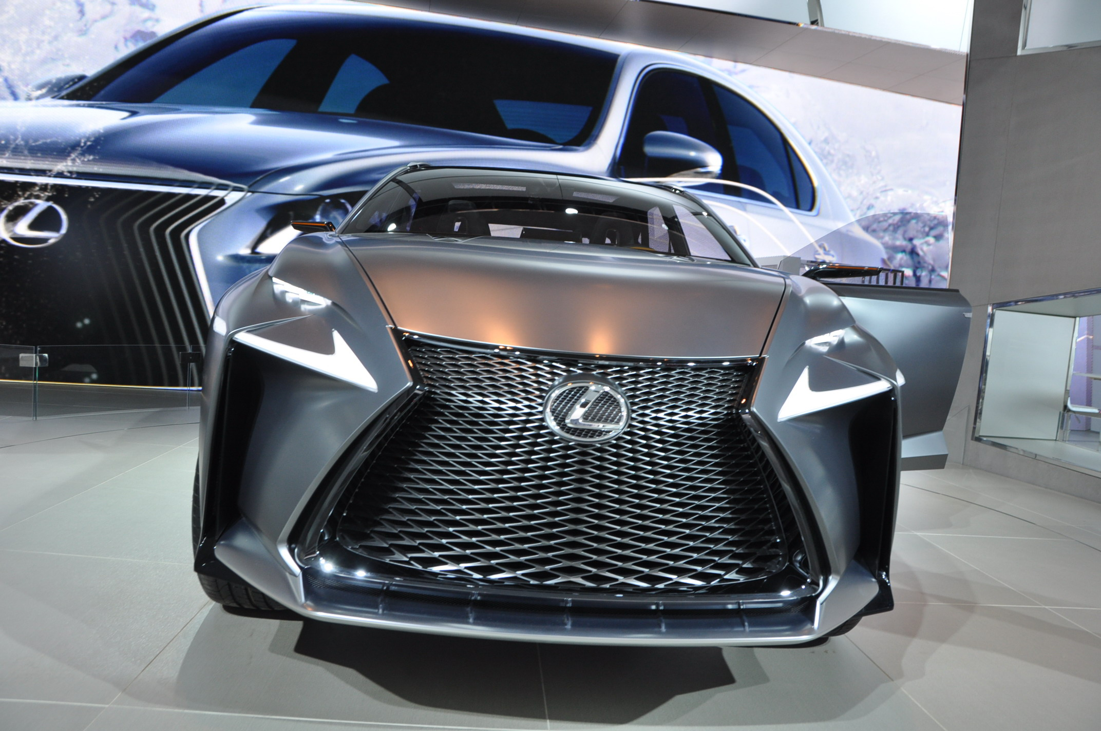 2013 Lexus Lf Nx Turbo Concept Top Speed