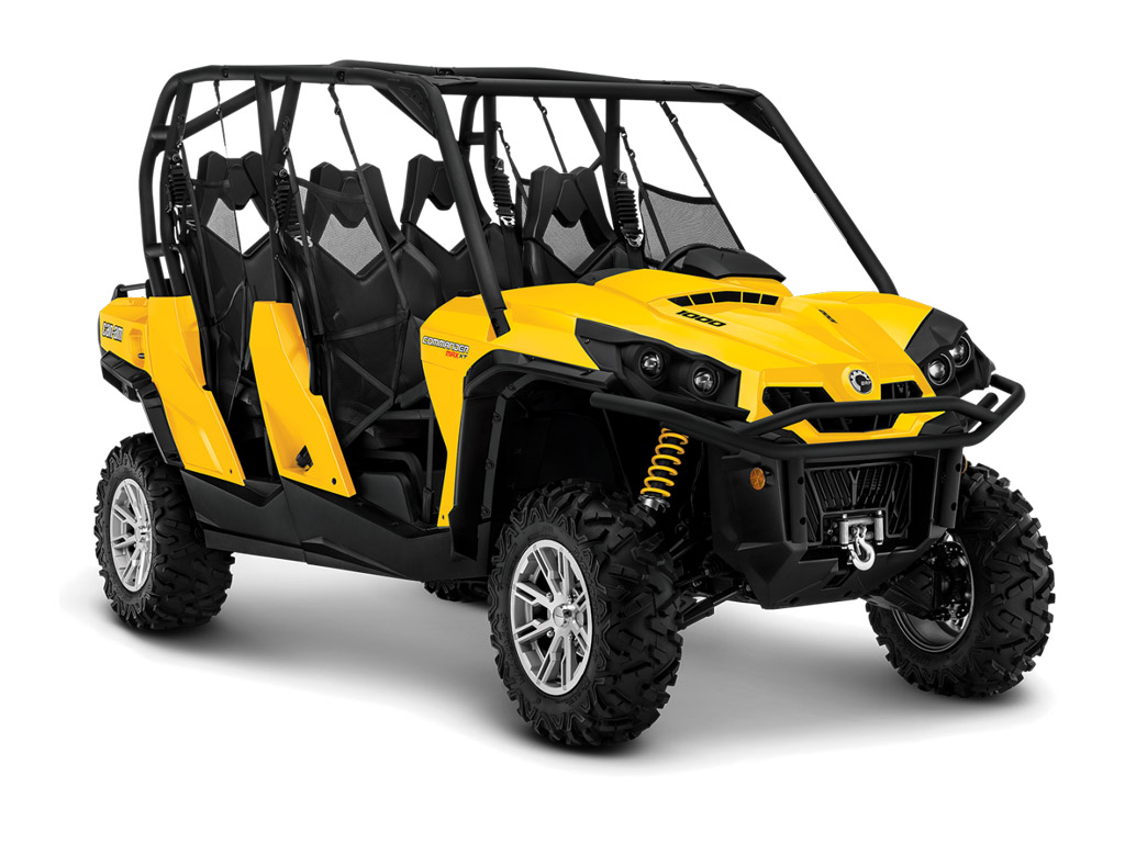 2014 Can-Am Commander MAX XT | Top Speed