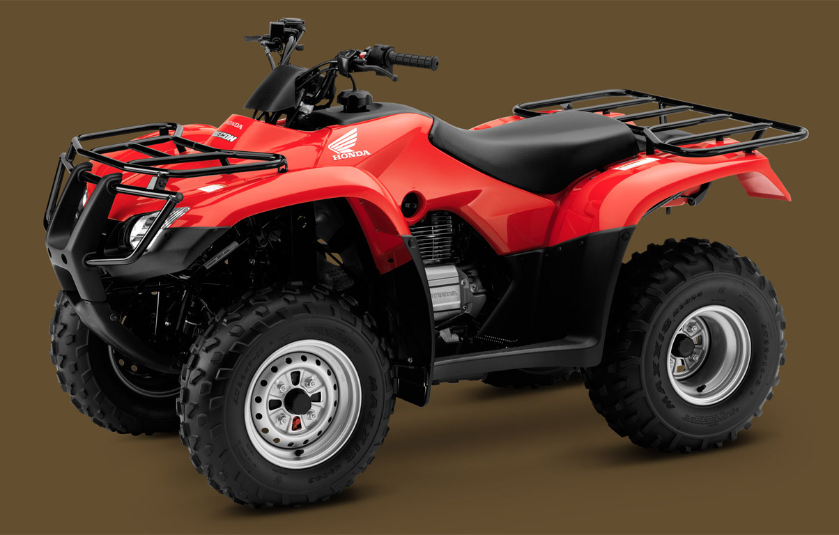 2014 Honda FourTrax Recon | Top Speed. »