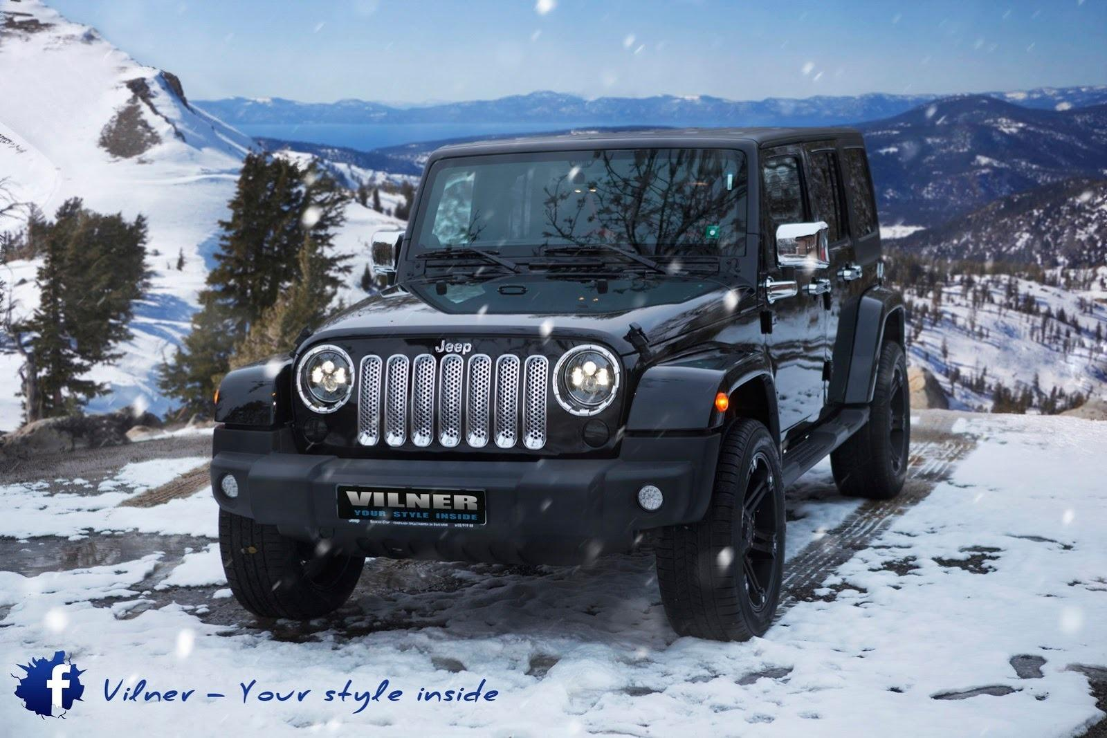 Types Of Jeeps >> 2014 Jeep Wrangler Sahara Unlimited By Vilner | Top Speed