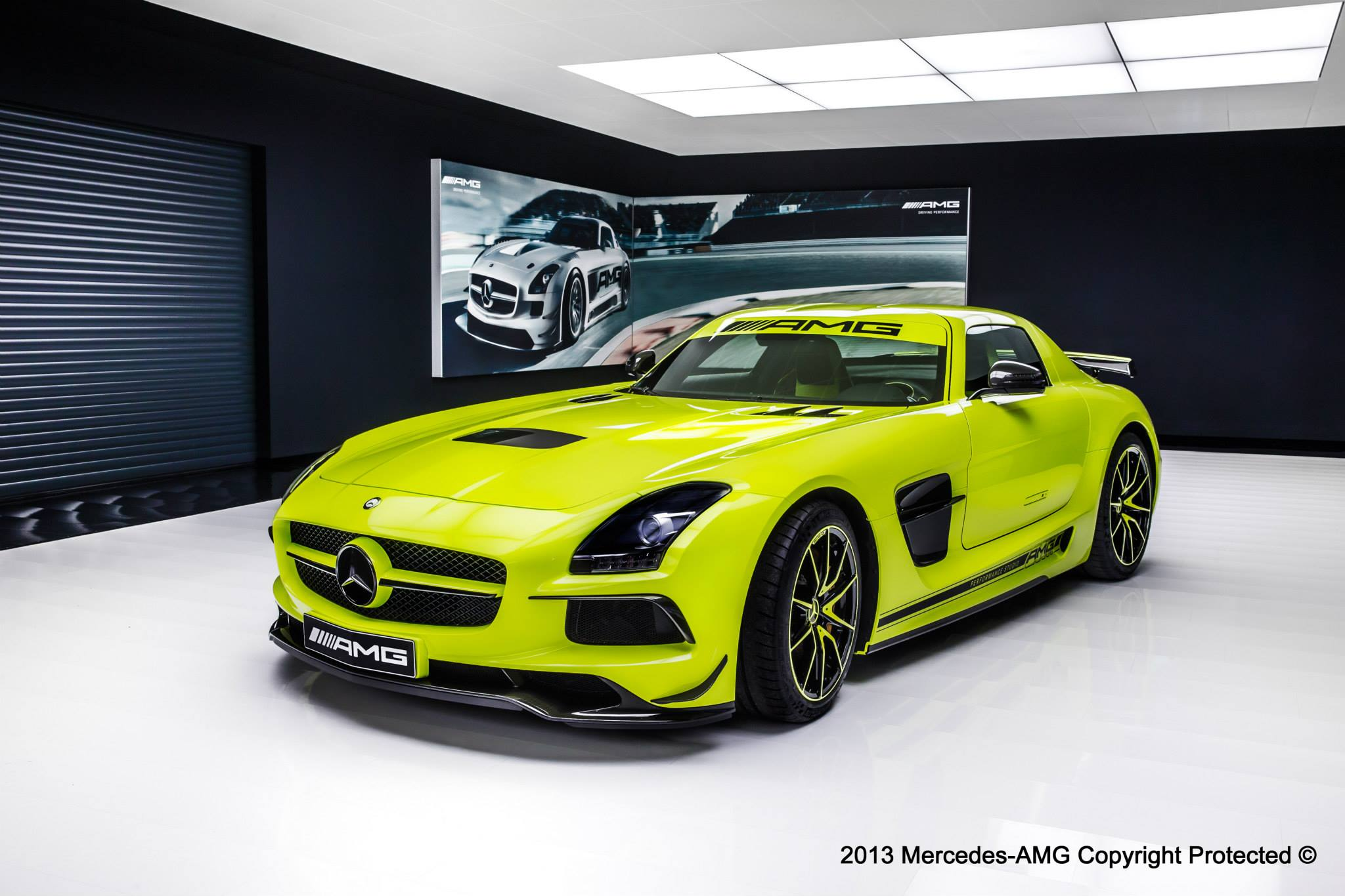 2014 Mercedes Benz SLS AMG Black Series By AMG Performance Studio | Top  Speed. »