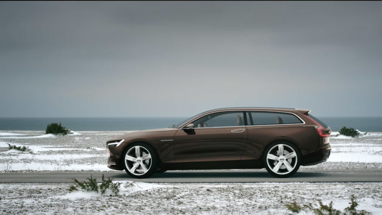 2014 Volvo Concept Estate Review - Top Speed