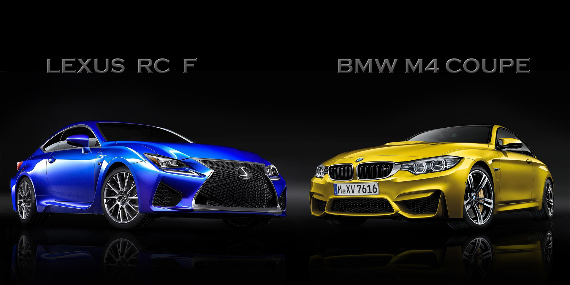 2015 lexus rc f vs bmw m4 coupe picture top speed. Black Bedroom Furniture Sets. Home Design Ideas