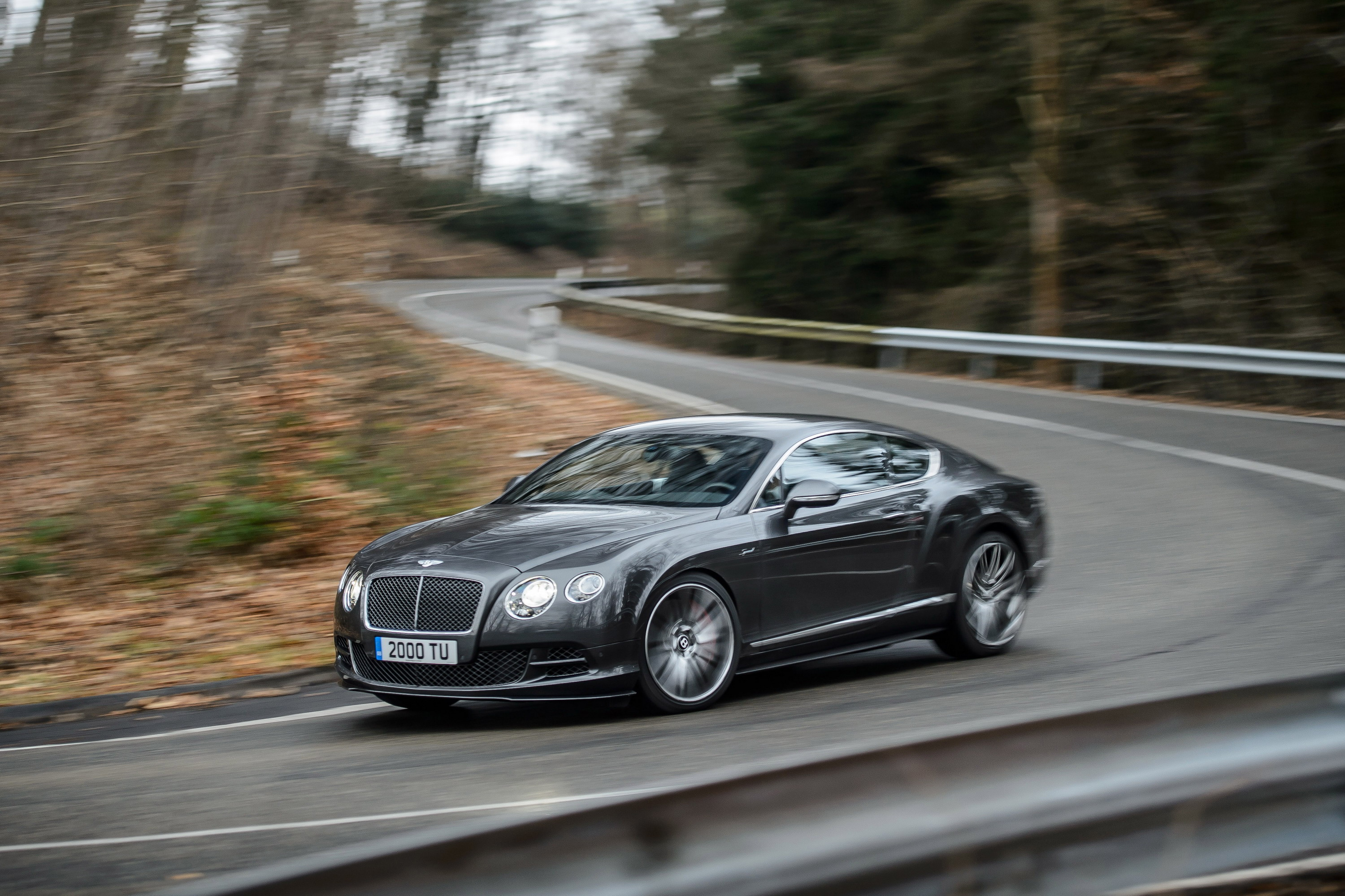 2015 Bentley Continental GT Speed | Top Speed