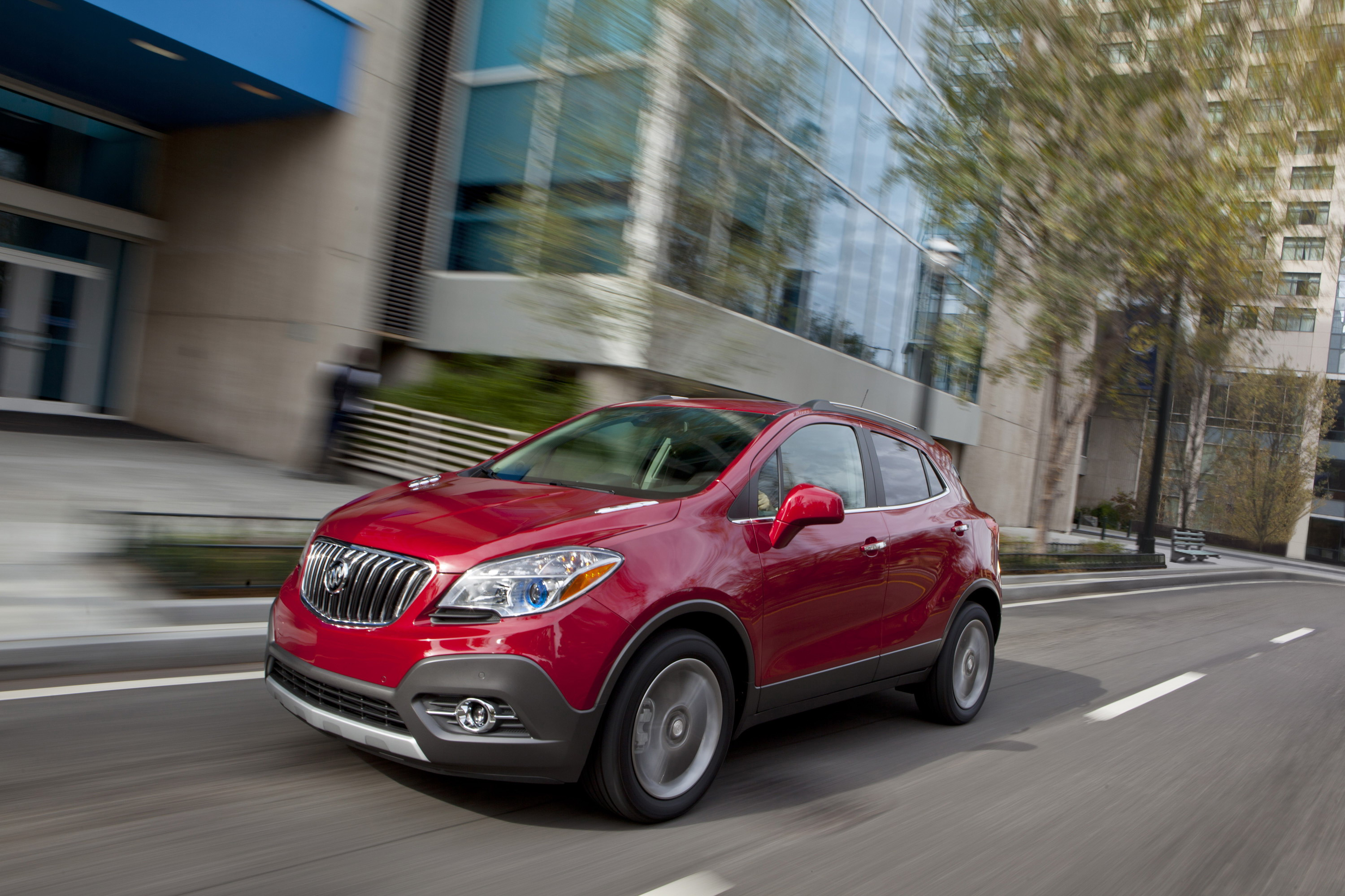 driving review road buick test leather price encore reviews suv awd