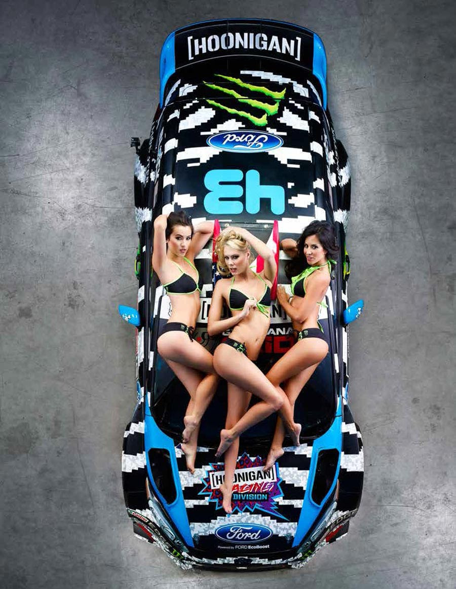 Ken Block Drift King >> Ken Block's Hoonigan Racing Division Ford Fiesta Shows Off Its 2014 Livery News - Top Speed