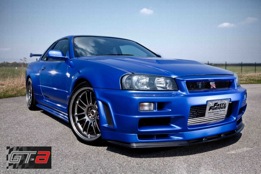 Paul Walker S Fast Furious Nissan Skyline Gt R Will Set You Back More Than 1 Million Pictures Photos Top Speed