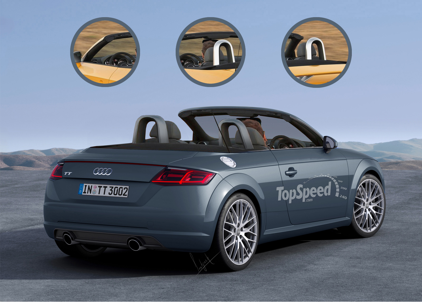2016 Audi TT Roadster | Top Speed. »