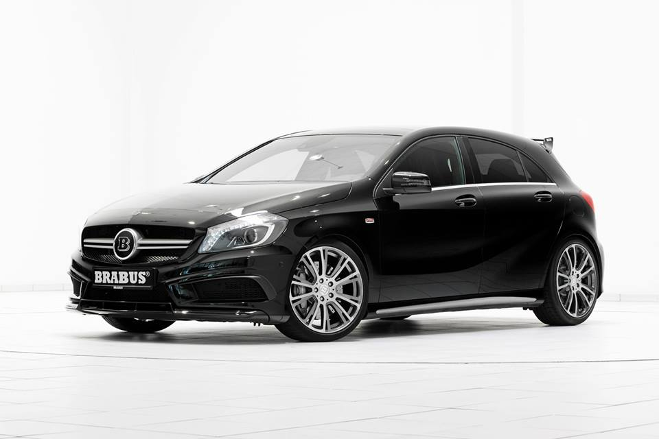 2014 Mercedes Benz A45 Amg By Brabus Top Speed