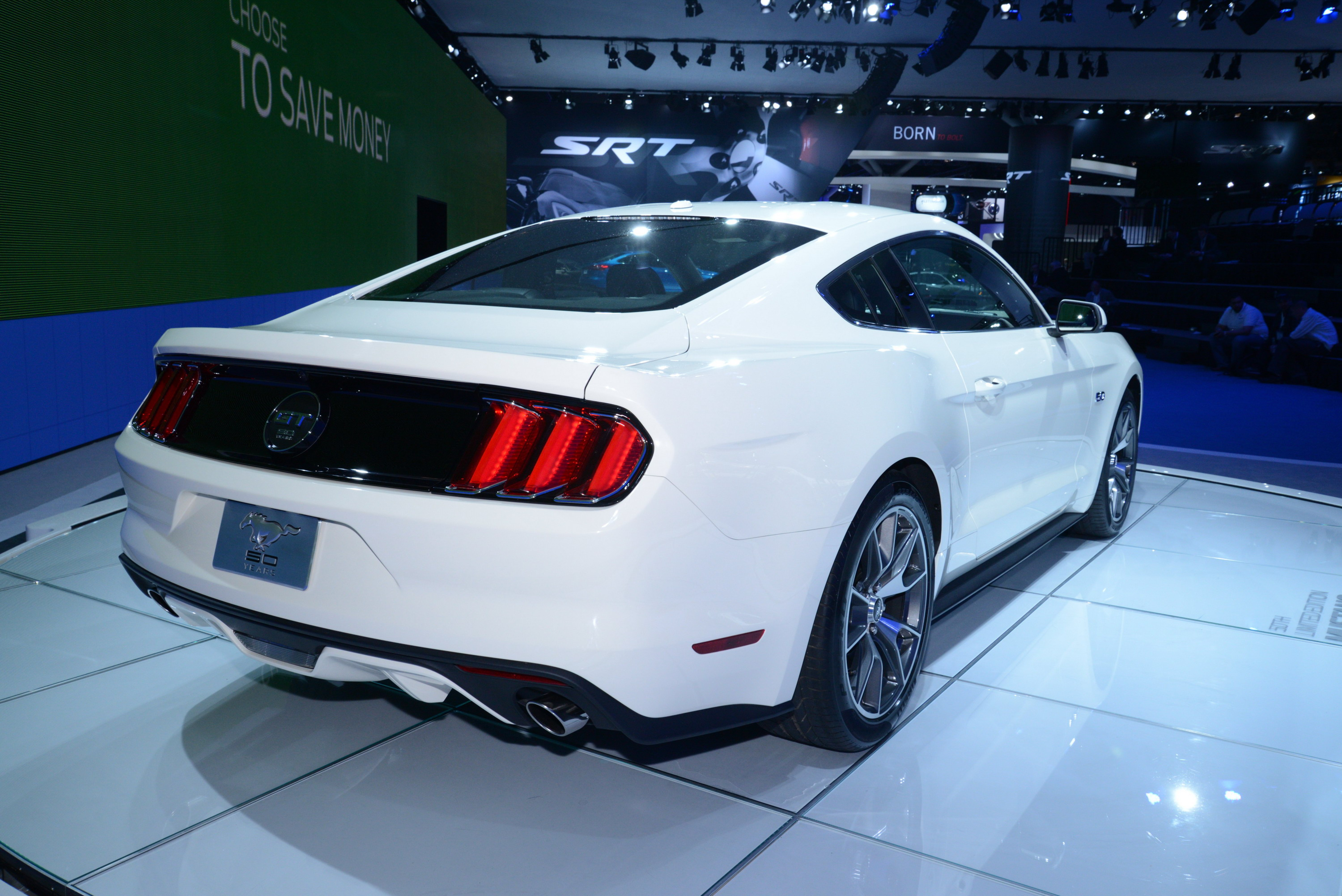 2015 ford mustang 50 year limited edition review top speed. Black Bedroom Furniture Sets. Home Design Ideas