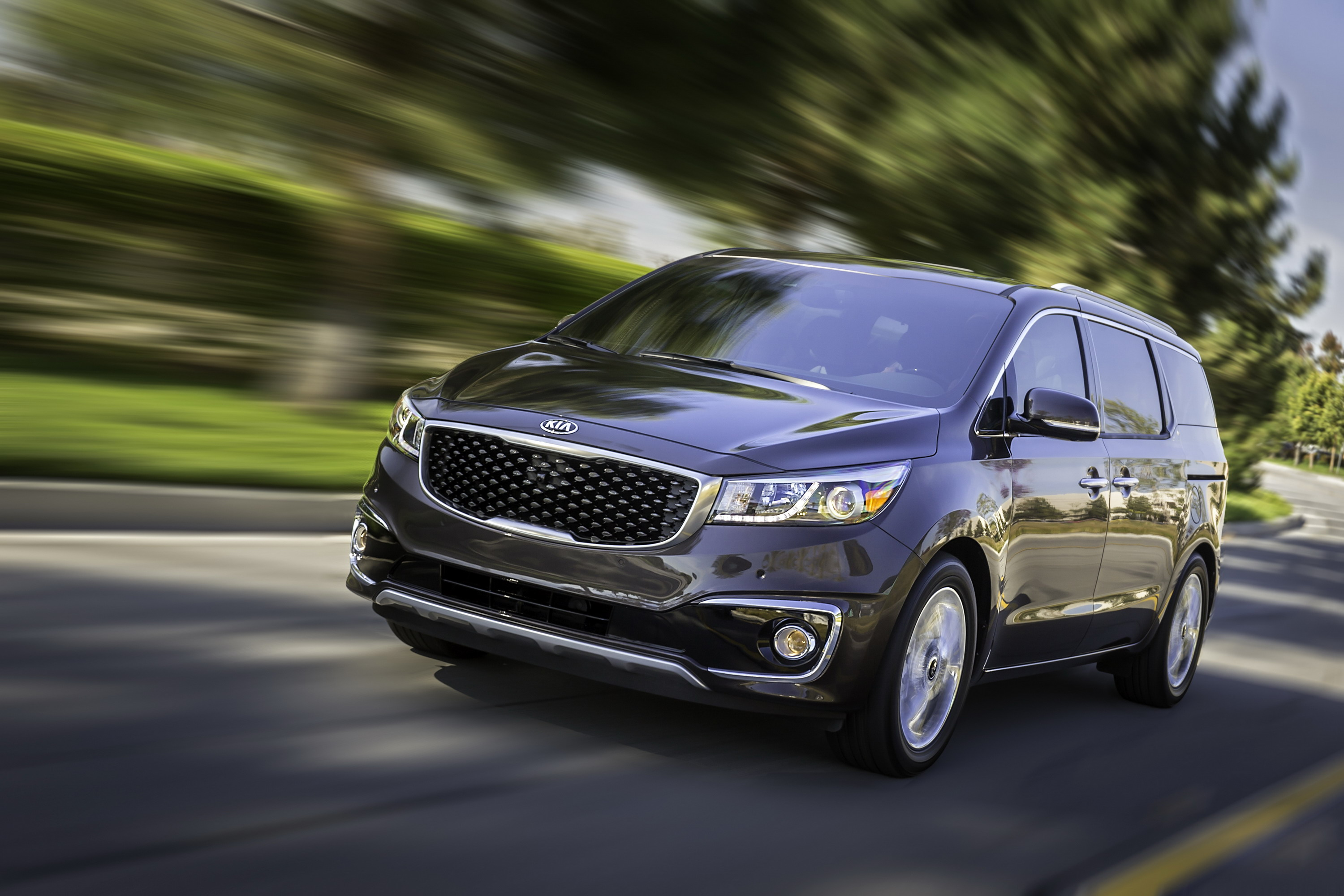 2015 Kia Sedona | Top Speed. »