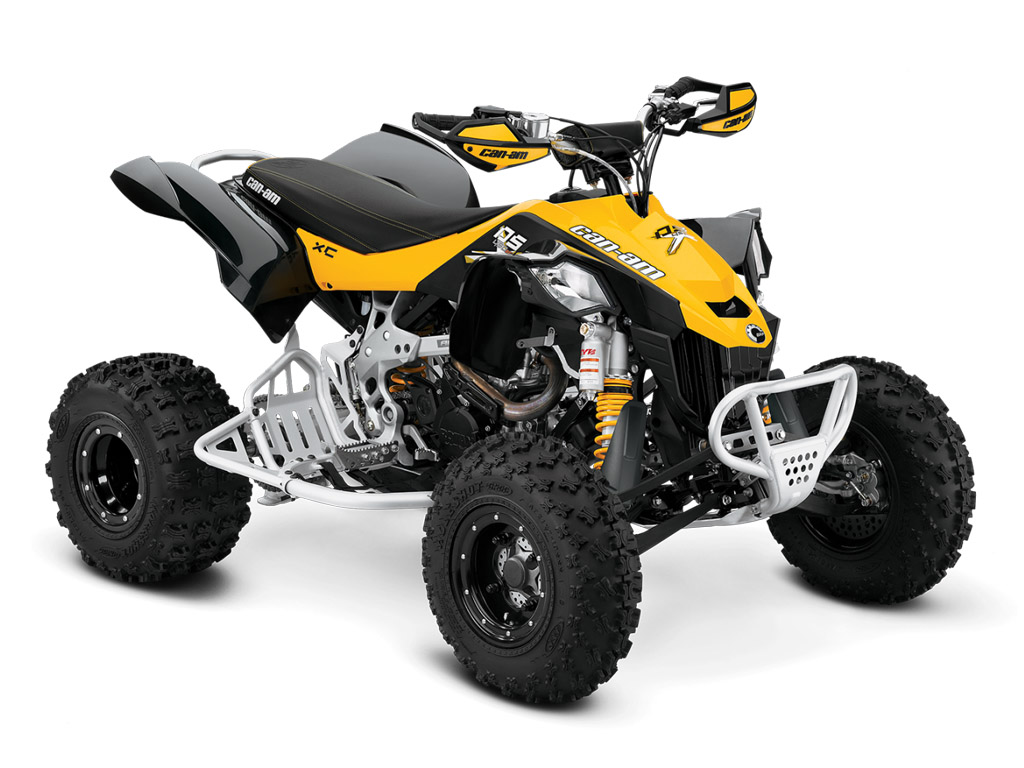 2014 can am ds 450 x xc top speed