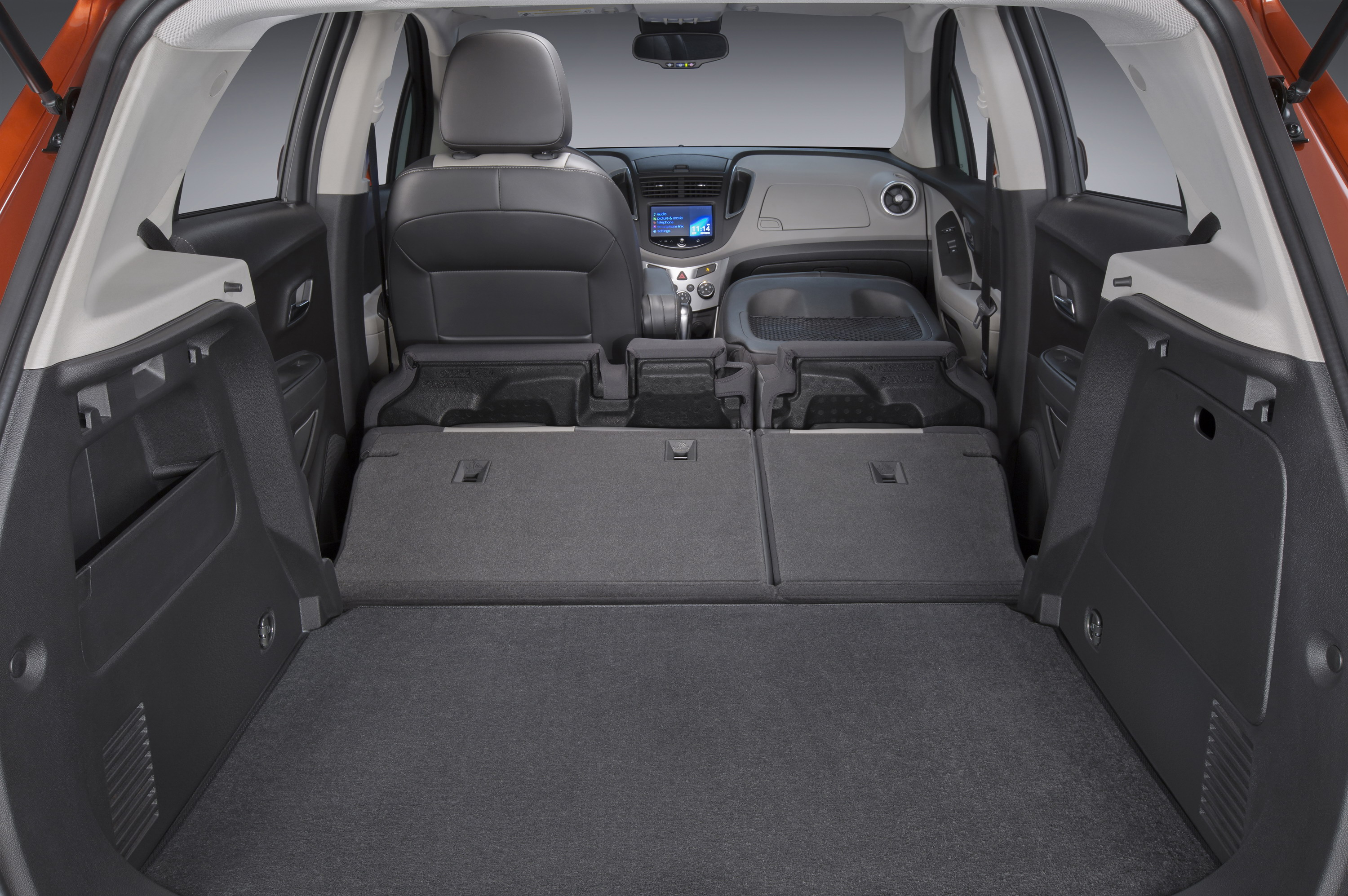 Chevy trax interior dimensions