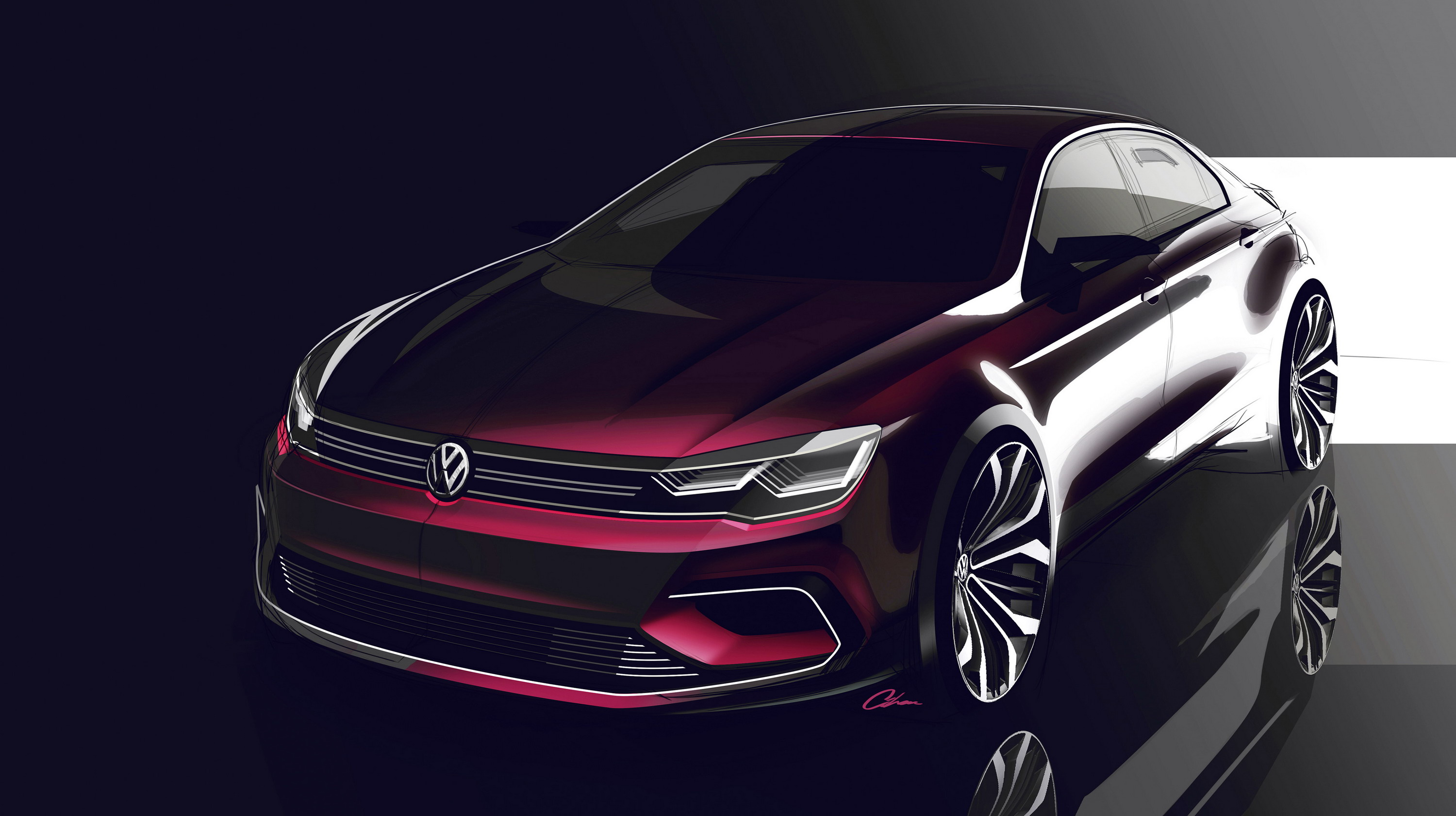 Next generation volkswagen jetta will be a four door coupe picture for as long as its been around the jetta has always been the notchback sibling to the golf but that could change when the next generation jetta is publicscrutiny Gallery