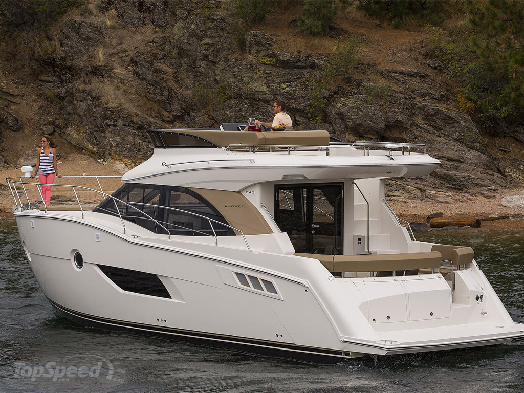 2014 Carver Yachts C40 - Picture 552553 | boat review ...