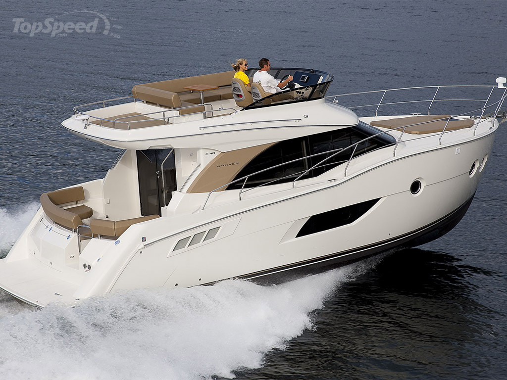 2014 Carver Yachts C40 - Picture 552554 | boat review ...