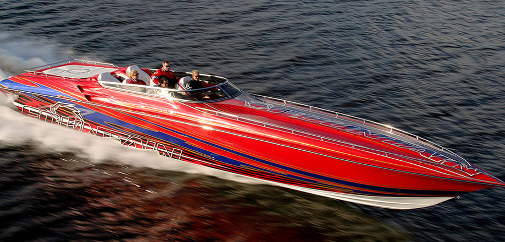 2014 fountain 47 lightning review top speed