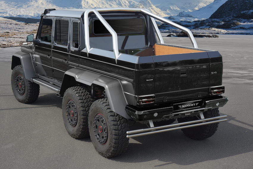 2014 Mercedes Amg G63 6x6 By Mansory Picture 552612