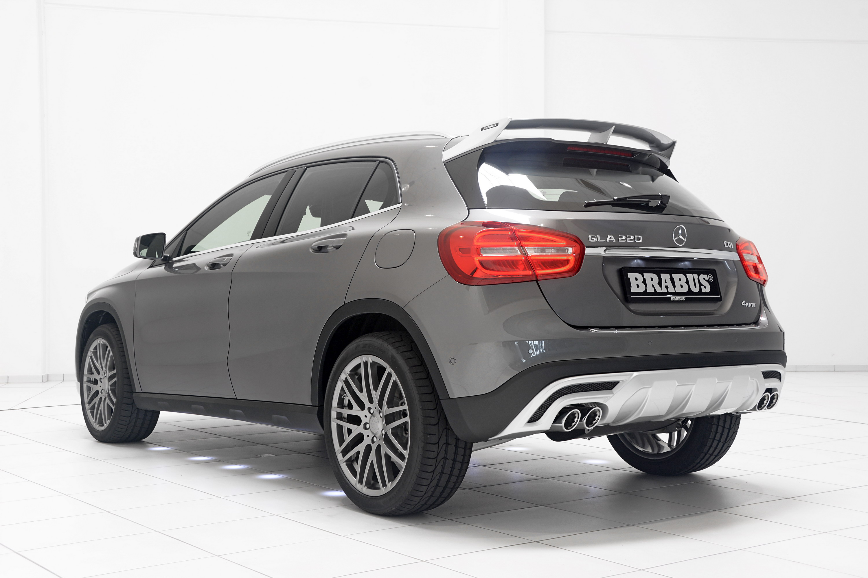 2015 Mercedes Gla Class By Brabus Top Speed