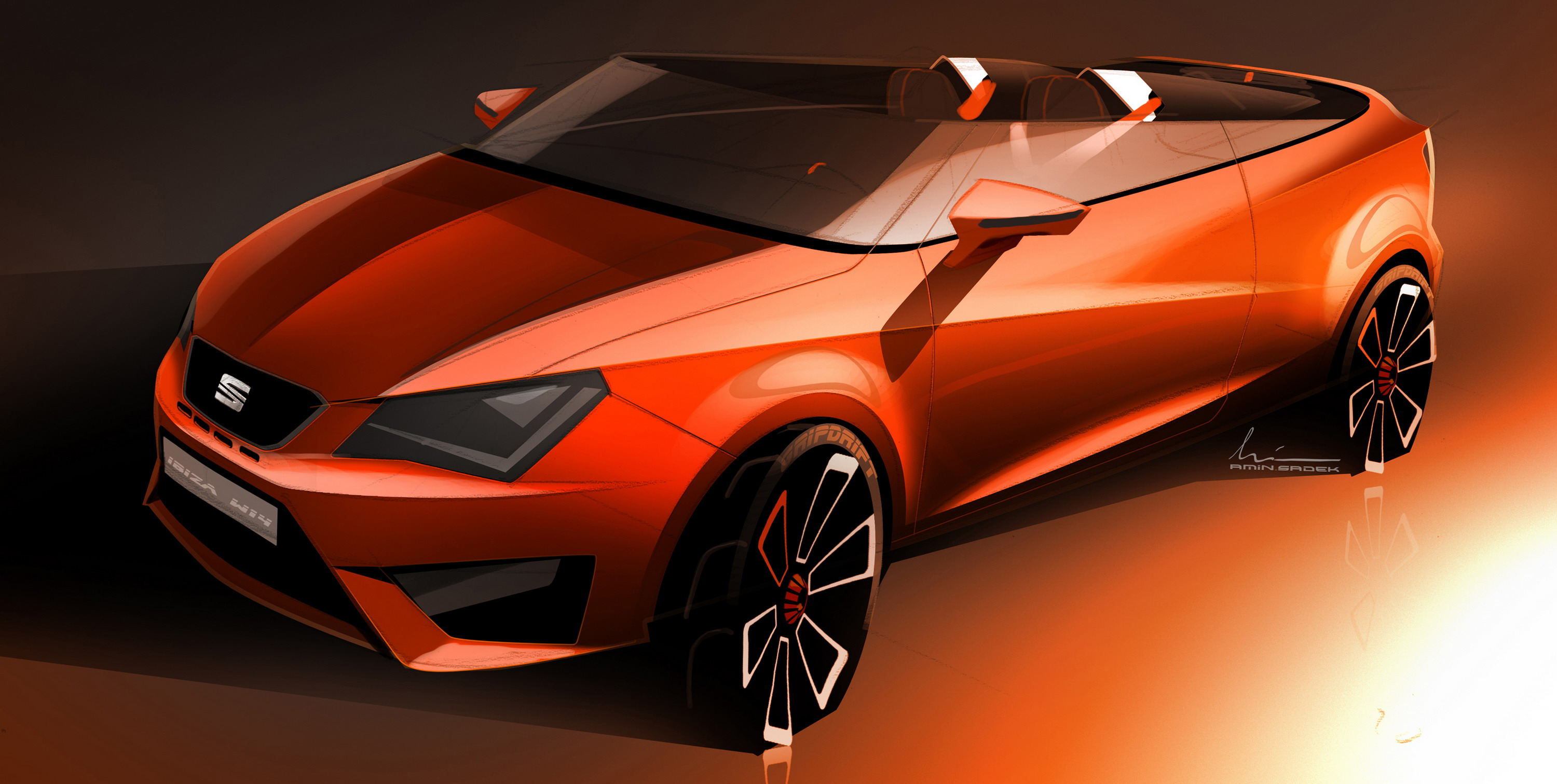 2014 seat ibiza cupster concept review gallery top speed. Black Bedroom Furniture Sets. Home Design Ideas