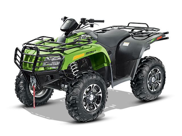 2014 Arctic Cat 550 Limited Top Speed