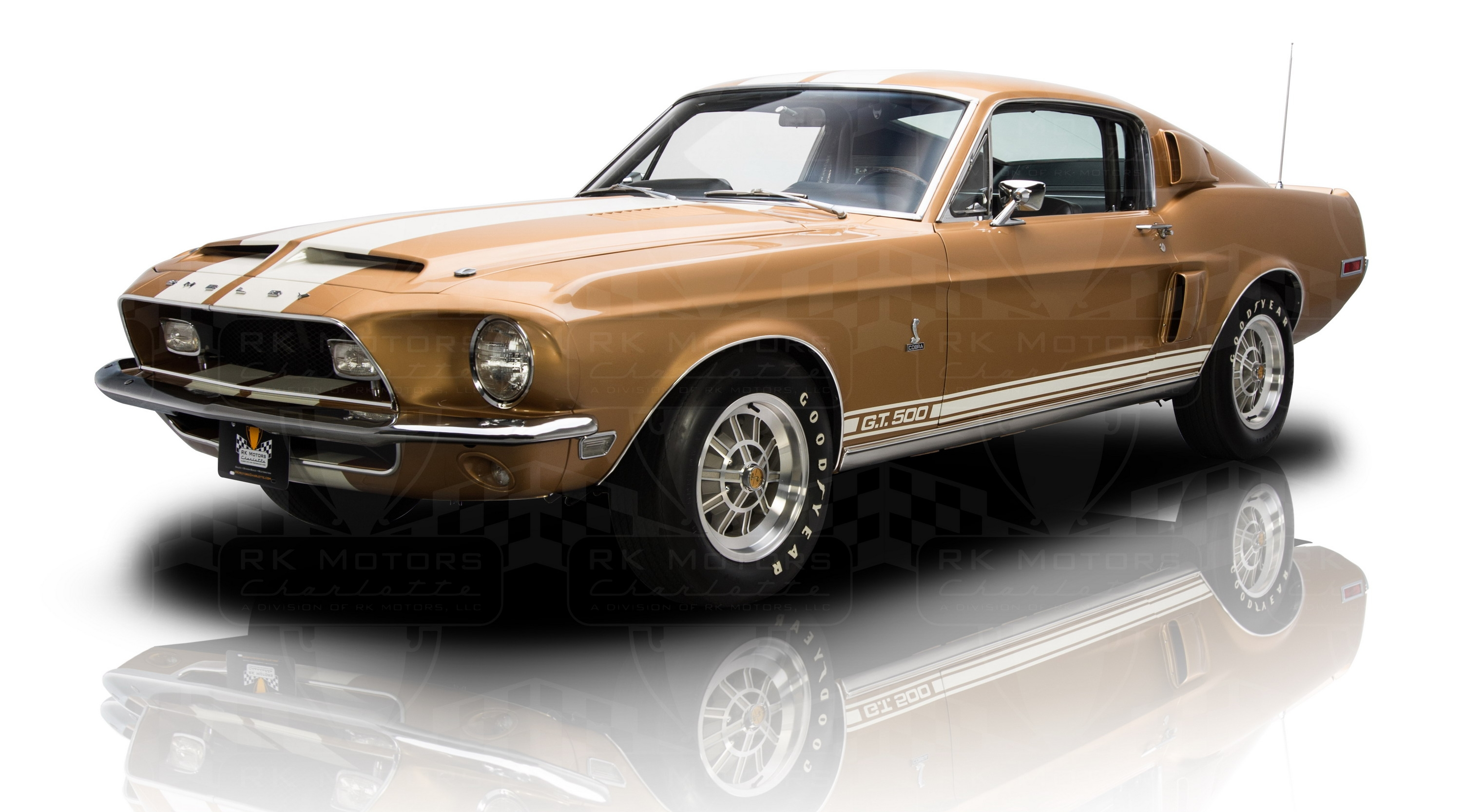 1968 Ford Shelby Mustang GT500 | Top Speed