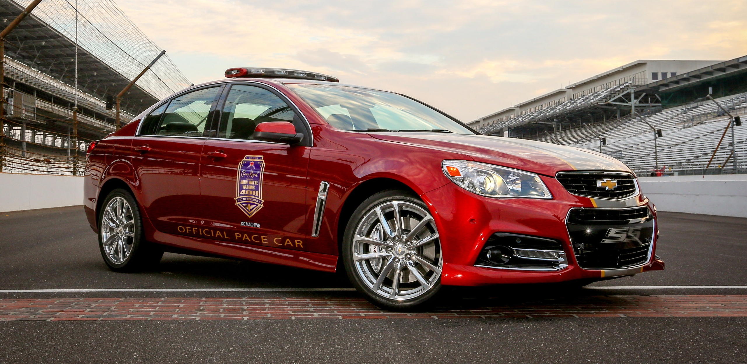 2014 Chevrolet SS Pace Car | Top Speed. »