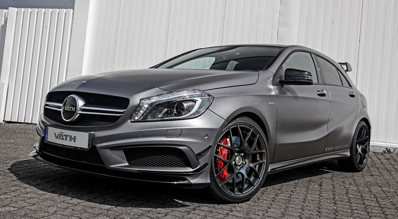 2014 mercedes a45 amg by vaeth top speed. Black Bedroom Furniture Sets. Home Design Ideas