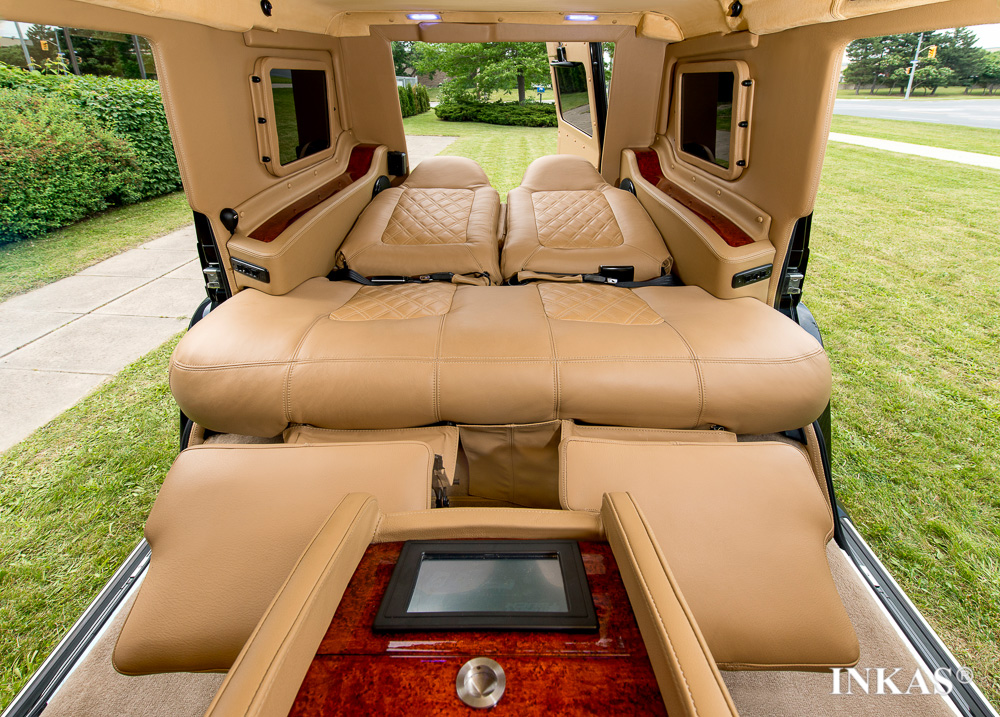 2014 Mercedes Benz G63 By Inkas Armored Vehicle Manufacturing Top