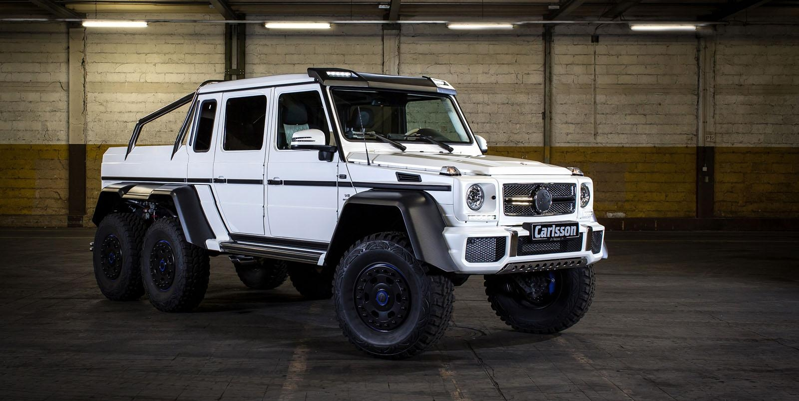 2014 Mercedes G63 Amg 6x6 By Carlsson Pictures Photos