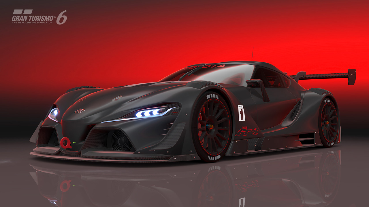 2014 Toyota FT-1 Vision GT Concept | Top Speed
